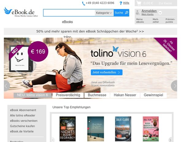 Ebook.de Coupon